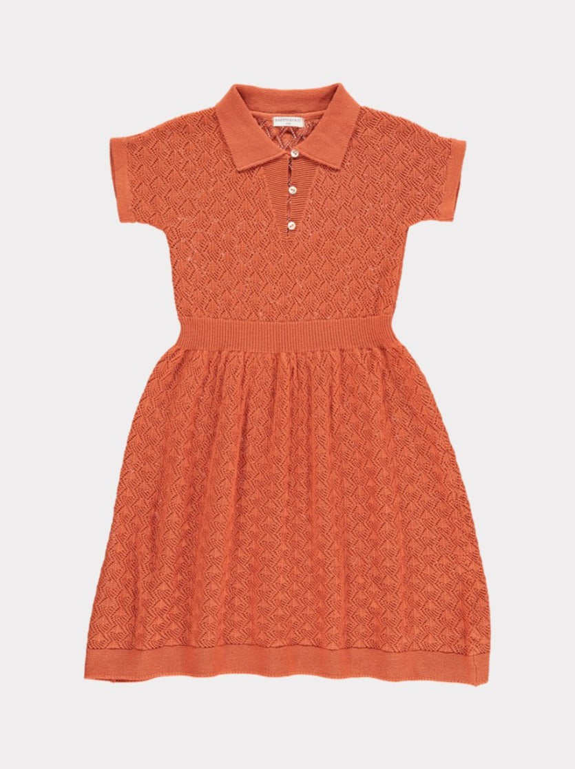 Cordelia Knitted Dress, Candy
