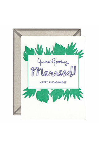 Getting Married - greeting card