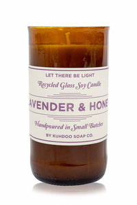 6.5oz Lavender and Honey Candle