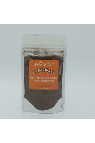 Not Your Sister's Coffee Rub & Seasoning