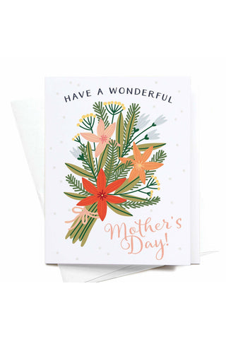 Have A Wonderful Mother's Day! Bouquet Greeting Card