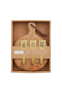 Paddle Board Cheese Set