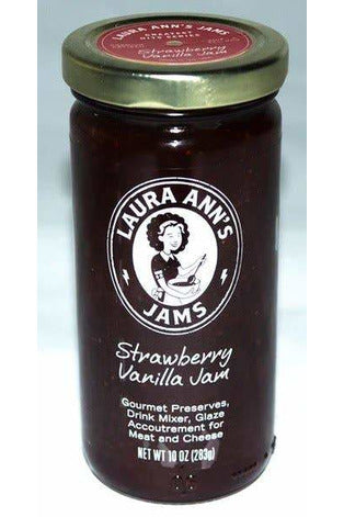 Strawberry Vanilla - Laura Ann's Jams
