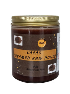 Cacao Creamed Raw Honey