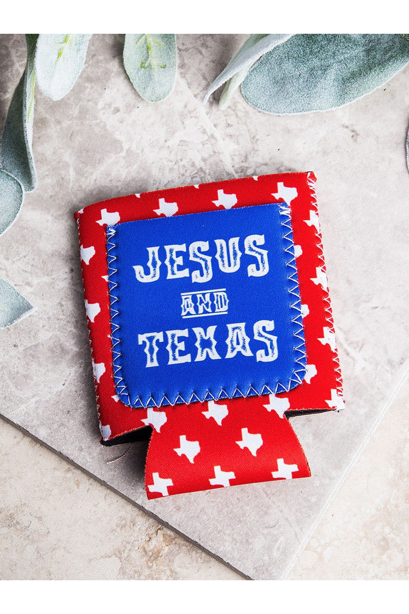 Jesus and Texas Can Cooler