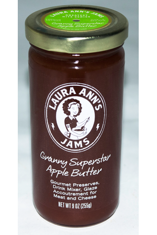 Granny Superstar Apple Butter - Laura Ann's Jams