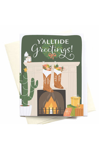 Y'alltide Greetings! Greeting Card