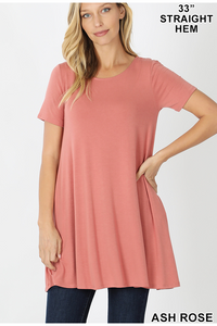 Ash Rose Flared Top With Side Pockets