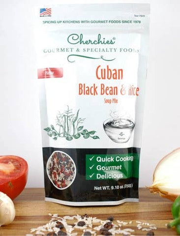 Cuban Black Bean & Rice Soup Mix