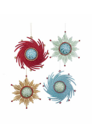 Atomic Snowflake Ornaments