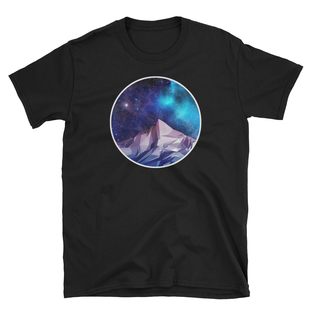 Geometric Mountain T-Shirt