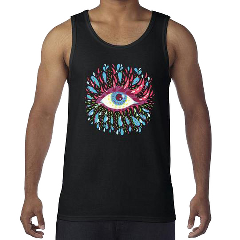 Trippy Eye Tank Top