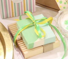 Aloe Vera Soap and Pretty Soy-Beeswax Candle Gift Set