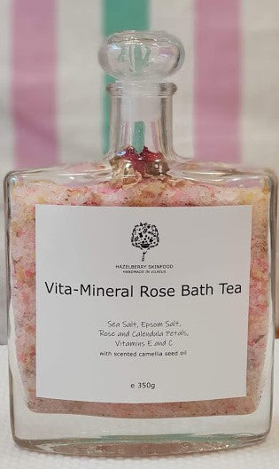 Vita-Mineral Rose Bath Tea