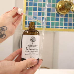 Tea Tree and Hemp Antibacterial Bath Oil