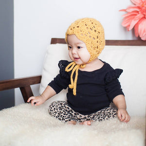 margot | vintage bonnet + colours - Loops For Littles, handmade knits for infants and toddlers