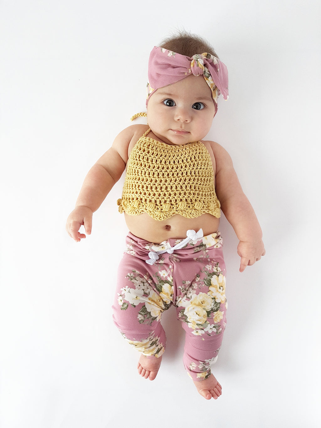 penelope crop top | + colours • pima cotton - Loops For Littles, handmade knits for infants and toddlers