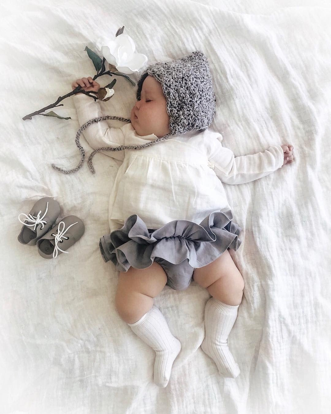 harper | pixie bonnet + colours - Loops For Littles, handmade knits for infants and toddlers