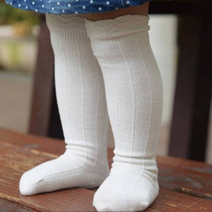 quinn | knee high stockings - Loops For Littles, handmade knits for infants and toddlers
