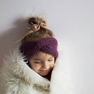 aspen | twisted ear warmer - Loops For Littles, handmade knits for infants and toddlers
