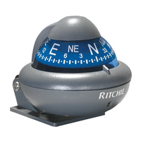 Ritchie X-10-A RitchieSport Automotive Compass - Bracket Mount - Gray [X-10-A]