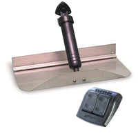 "Bennett Trim Tab Kit 12"" x 12"" w/Euro Rocker Switch [1212E]"