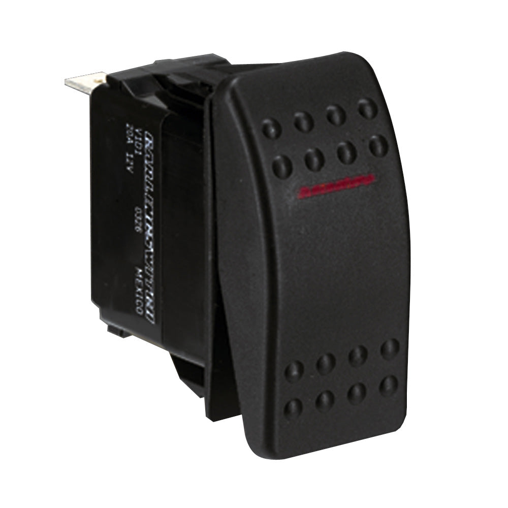 Paneltronics SPST ON/OFF Waterproof Contura Rocker Switch [001-675]