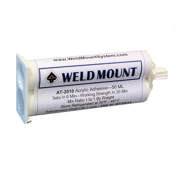 Weld Mount AT-2010 Acrylic Adhesive - 10-Pack [201010]
