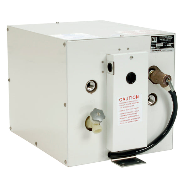 Whale Seaward 6 Gallon Hot Water Heater w/Rear Heat Exchanger - White Epoxy - 120V - 1500W [S600W]