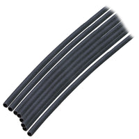 "Ancor Adhesive Lined Heat Shrink Tubing (ALT) - 1/8"" x 6"" - 10-Pack - Black [301106]"