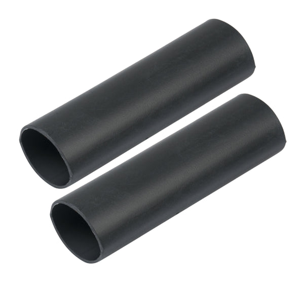 "Ancor Heavy Wall Heat Shrink Tubing - 1"" x 12"" - 2-Pack - Black [327124]"