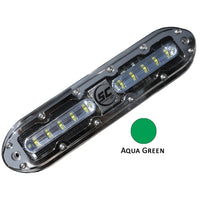 Shadow-Caster SCM-10 LED Underwater Light w/20' Cable - 316 SS Housing - Aqua Green [SCM-10-AG-20]