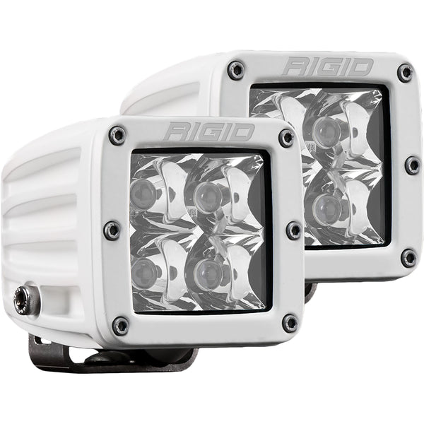 RIGID Industries D-Series PRO Hybrid-Spot LED - Pair - White [602213]