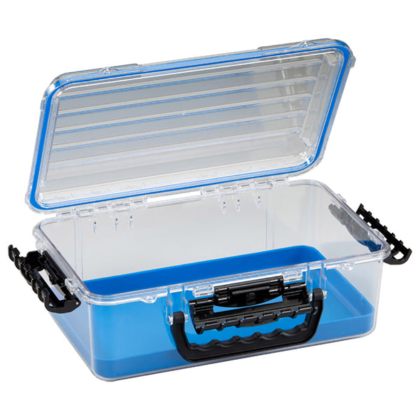 Plano Guide Series Waterproof Case 3700 - Blue/Clear [147000]