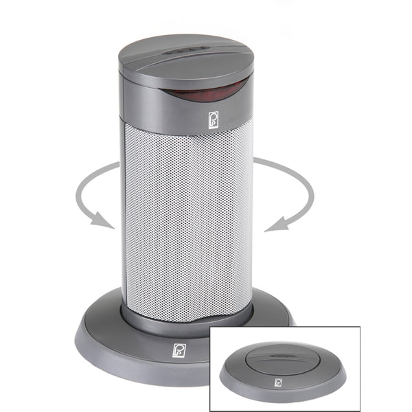Poly-Planar Round Waterproof Pop-Up Spa Speaker - Gray [SP201RG]