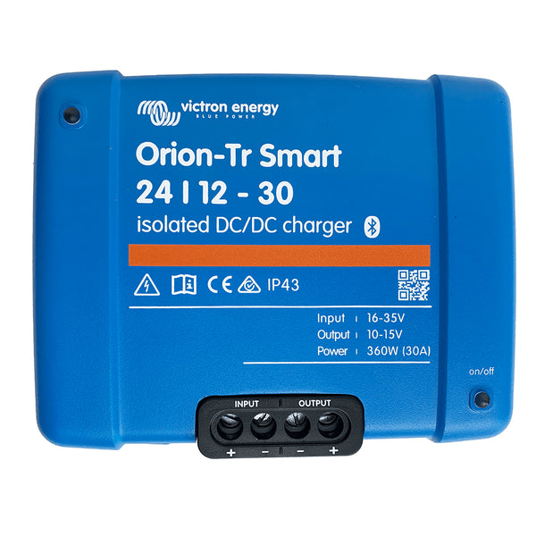 Victron Energy Orion-TR Smart 24/12-30 30A (360W) Isolated DC-DC or Power Supply [ORI241236120]