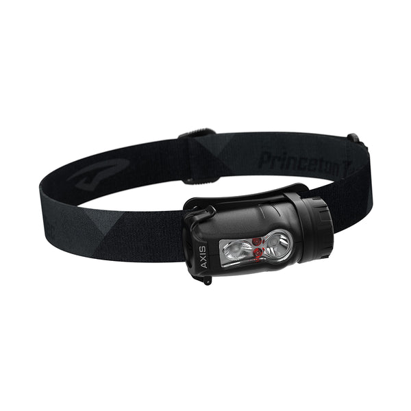 Princeton Tec Axis Rechargeable LED HeadLamp - Black/Grey [AXRC21-BK/DK]