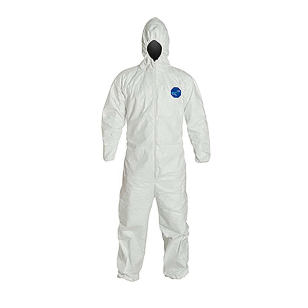 Dupont Tyvek 400 Hooded Coveralls 5.4 Mil