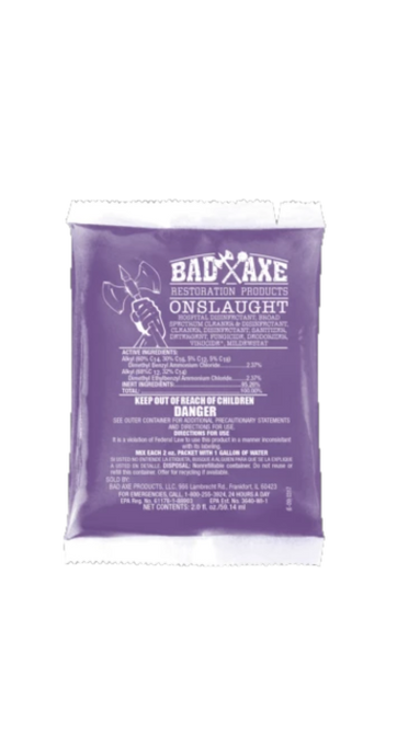 Bad Axe Onslaught EPA Registered Disinfectant