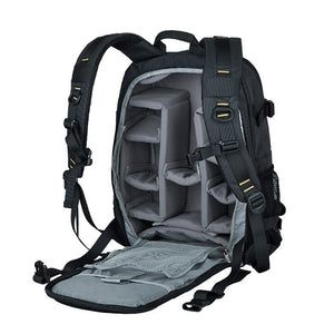 Waterproof Nylon Camera Bag DSLR Camera Backpack Daypack Laptop Compartment for Nikon Canon Olympus EOS Pentax Dslr SLR - CHARGING BAGS