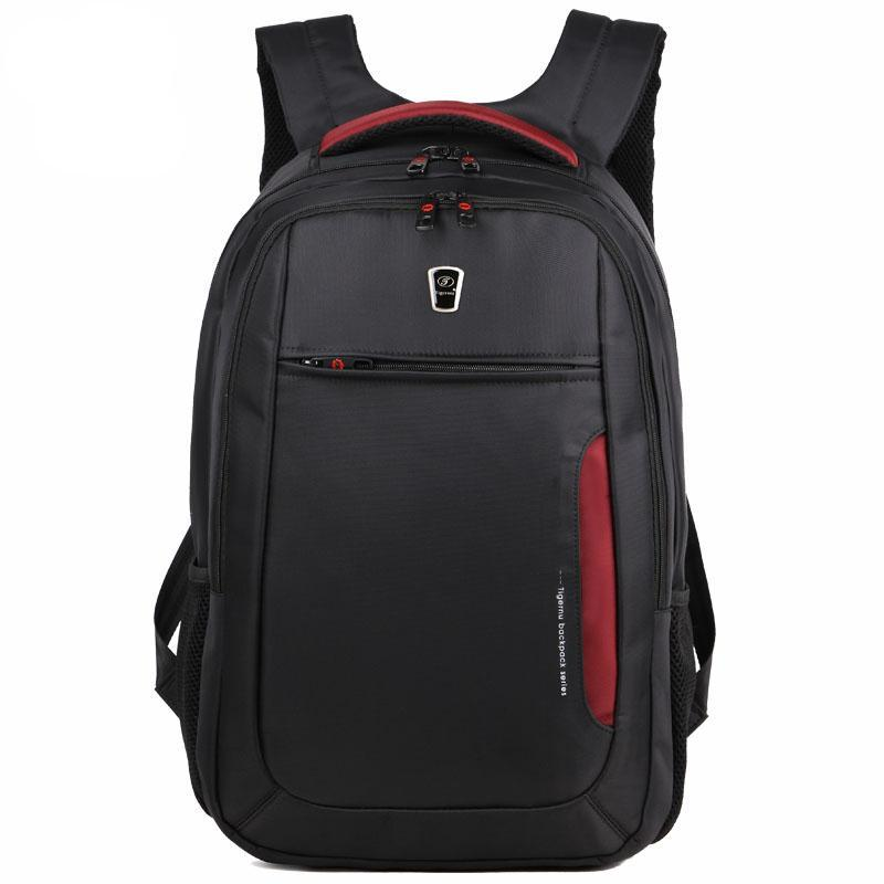 "Waterproof Nylon Men Backpack Fits 12.1""-15.6"" Laptop Fashion Anti-theft School Bags - CHARGING BAGS"