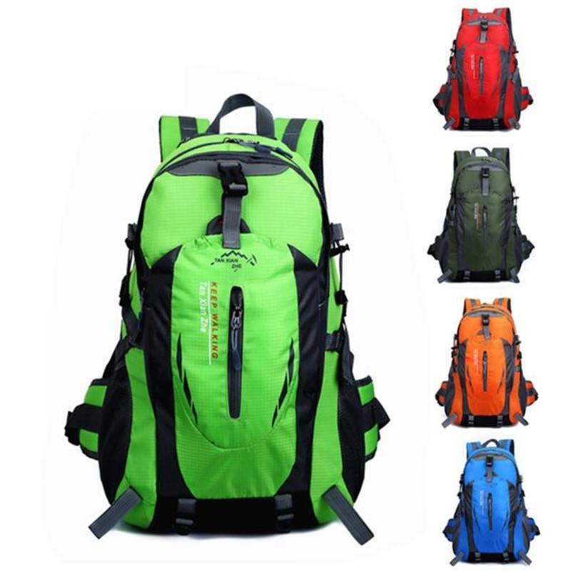 40L Outdoor mountaineering bag Hiking Camping Waterproof Nylon Travel Luggage  Backpack - CHARGING BAGS