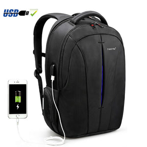 Unisex Backpack Student College School Bags Waterproof  Backpack - CHARGING BAGS