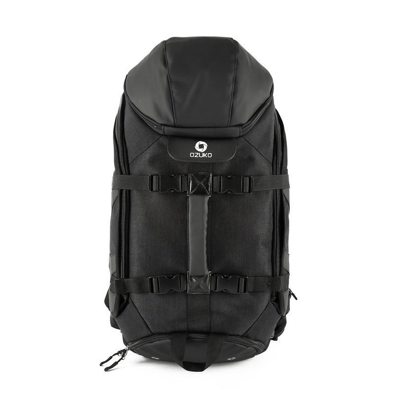 New Large Capacity Travel Backpack Men's Multi-function USB Charging Laptop Backpack Waterproof Travel Male - CHARGING BAGS