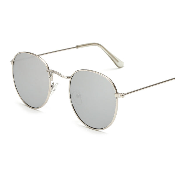 Lana - Luxury Retro Round Mirrored Sunglasses