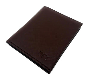 dfy MINIMALIST RFID BLOCKING WALLET - BROWN