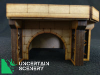 8/10mm Arched Board Surround (Closed Back) - Uncertain Scenery