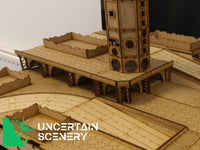 8/10mm Arched Board Surround (Open Back) - Uncertain Scenery