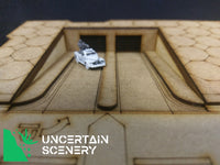 8/10mm Underground Car Park Entrance Straight Road - Uncertain Scenery