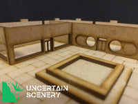 8/10mm Sunken Courtyard